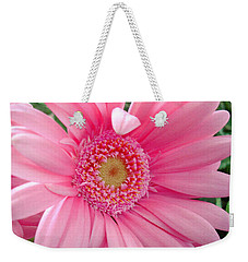 The Friendly Petal Wave Weekender Tote Bag by Sue Melvin