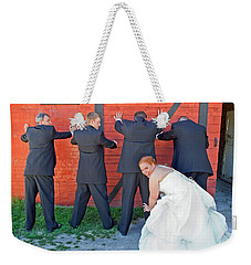The Frisky Bride Weekender Tote Bag