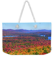 The Fulton Chain Of Lakes Weekender Tote Bag