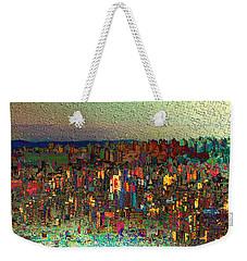 The Fun Side Of Town Weekender Tote Bag