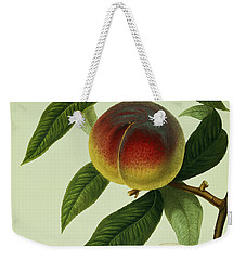The Galande Peach Weekender Tote Bag by William Hooker