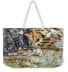 The Galaxian Traveler Corp Weekender Tote Bag