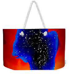 The Galaxy In Us All Weekender Tote Bag by Justin Moore