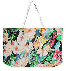 The Gallery Of Orchids 2 Weekender Tote Bag by Esther Newman-Cohen
