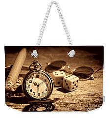 The Gambler's Watch Weekender Tote Bag by American West Legend By Olivier Le Queinec