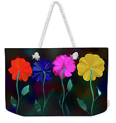 Weekender Tote Bag featuring the photograph The Garden by Paul Wear