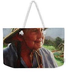 The Gardener Weekender Tote Bag by Janet McGrath