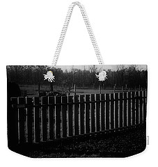 Weekender Tote Bag featuring the photograph The Gardengate by Mimulux patricia no No