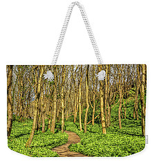 Weekender Tote Bag featuring the photograph The Garlic Forest by Roy McPeak