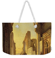 The Gates Of El Geber In Morocco Weekender Tote Bag
