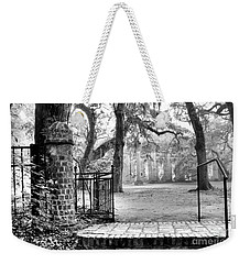 The Gates Of The Old Sheldon Church Weekender Tote Bag by Scott Hansen