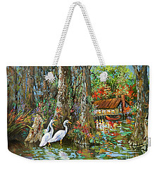 The Gathering - Louisiana Swamp Life Weekender Tote Bag
