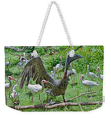 The Gathering Weekender Tote Bag