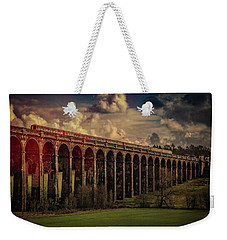 Weekender Tote Bag featuring the photograph The Gatwick Express by Chris Lord