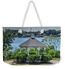 Weekender Tote Bag featuring the photograph The Gazebo by Tom Prendergast