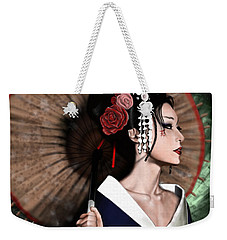 The Geisha Weekender Tote Bag