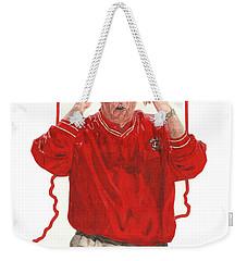 The General Bob Knight Weekender Tote Bag