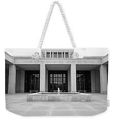 The George W. Bush Presidential Library And Museum  Weekender Tote Bag by Robert Bellomy