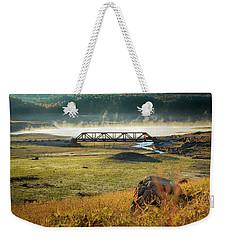 The Ghost Bridge Weekender Tote Bag
