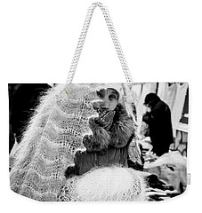 Weekender Tote Bag featuring the photograph The Ghost by John Williams