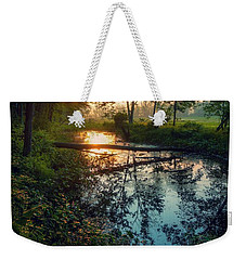Weekender Tote Bag featuring the photograph The Gift by Kendall McKernon