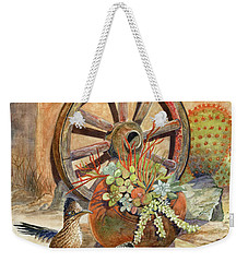 The Gift Weekender Tote Bag by Marilyn Smith