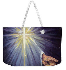 The Gift Of The Saviour Weekender Tote Bag