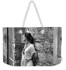 The Girl On The Street Weekender Tote Bag