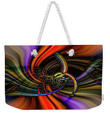 The Girl With Kaleidoscope Eyes Weekender Tote Bag by Cathy Donohoue