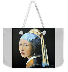 The Girl With The Pearl Earring  Weekender Tote Bag