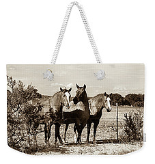 The Girlz  Sepia Weekender Tote Bag