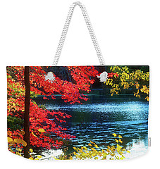 The Glory Of A New England Autumn Weekender Tote Bag