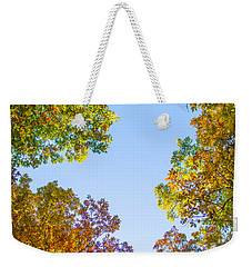 Weekender Tote Bag featuring the photograph The Glory Of Autumn by Parker Cunningham