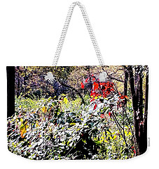 The Glory Of Red Weekender Tote Bag