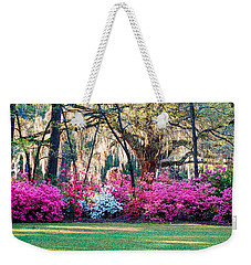 Weekender Tote Bag featuring the photograph The Glory Of Spring by Linda Brown