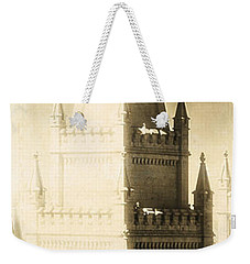 The Glory Of The Lord Shone Round About Weekender Tote Bag by Greg Collins