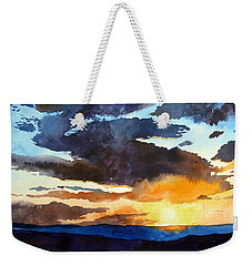 The Glory Of The Sunset Weekender Tote Bag