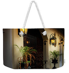 The Glow Of Gas Weekender Tote Bag