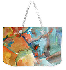 The Glowing Bits Weekender Tote Bag