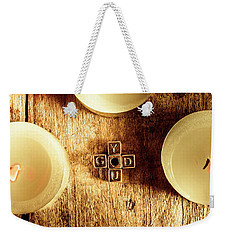 The God Complex Weekender Tote Bag
