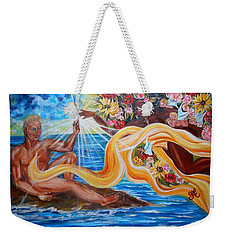 The Goddess Weekender Tote Bag