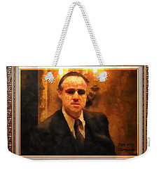 The Godfather Weekender Tote Bag