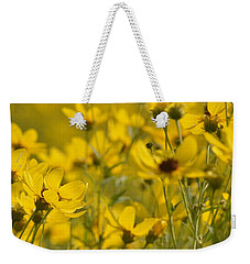 The Gold Of Almost Autumn #1 Weekender Tote Bag