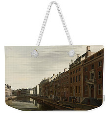 The Golden Bend In The Herengracht, Amsterdam, Seen From The West, 1672 Weekender Tote Bag