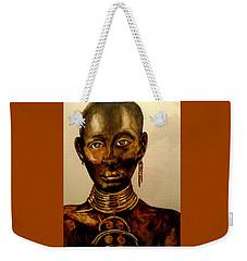 The Golden Black Weekender Tote Bag by Yolanda Rodriguez