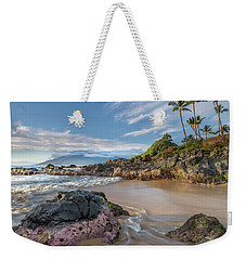The Golden Hour In Paradise Weekender Tote Bag