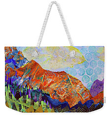 The Golden Hour Weekender Tote Bag by Polly Castor