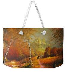 Golden Forest Of The Elves Weekender Tote Bag