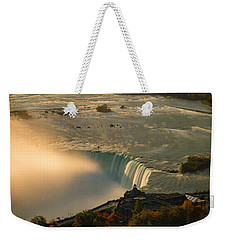 The Golden Mist Of Niagara Weekender Tote Bag