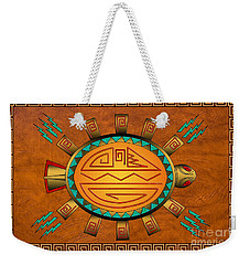 The Golden Spirit Turtle Weekender Tote Bag